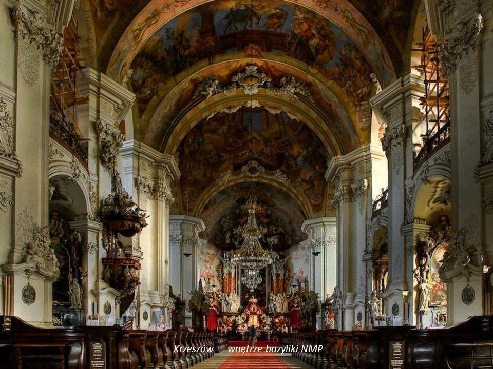 Krzeszów - wnętrze bazyliki NMP