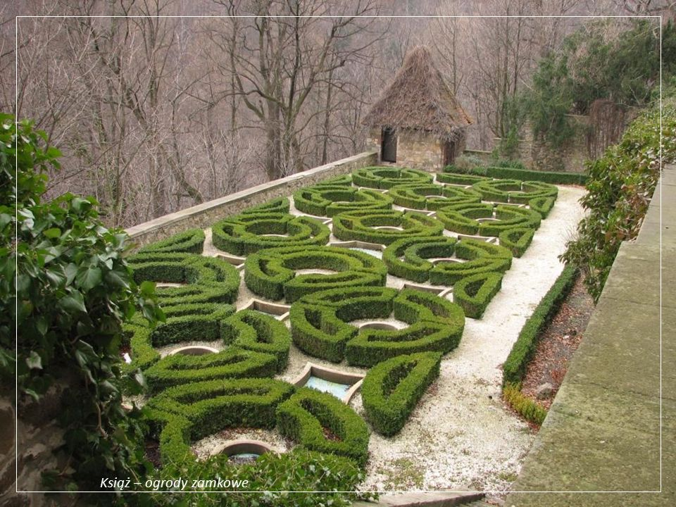 Książ – ogrody zamkowe