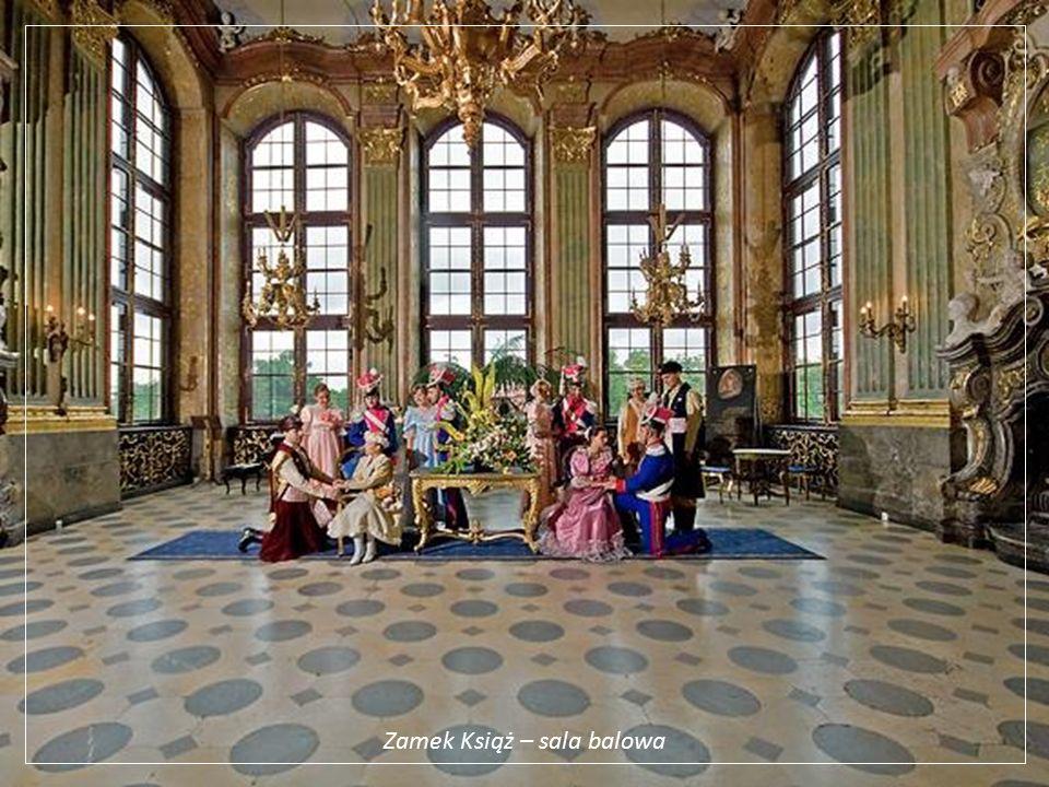 Zamek Książ – sala balowa