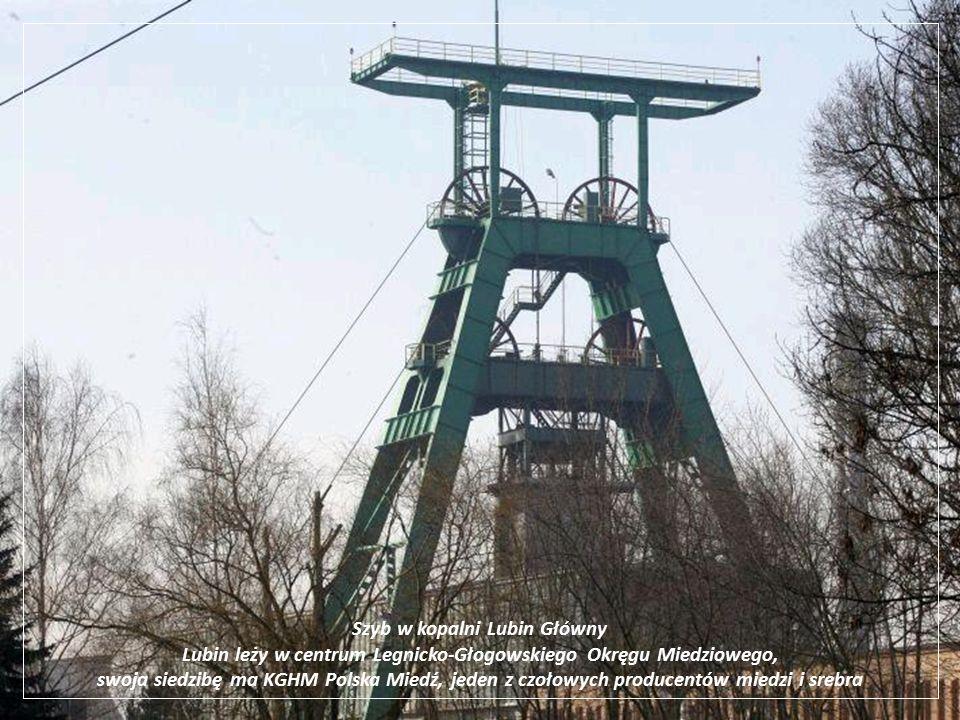 Szyb w kopalni Lubin Główny