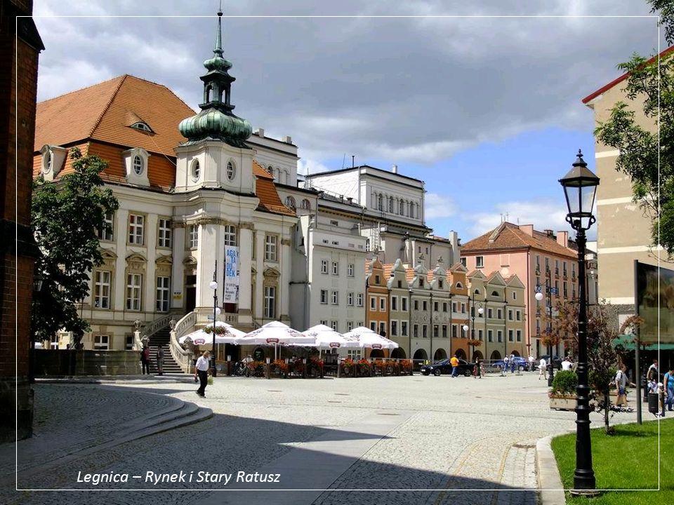 Legnica – Rynek i Stary Ratusz