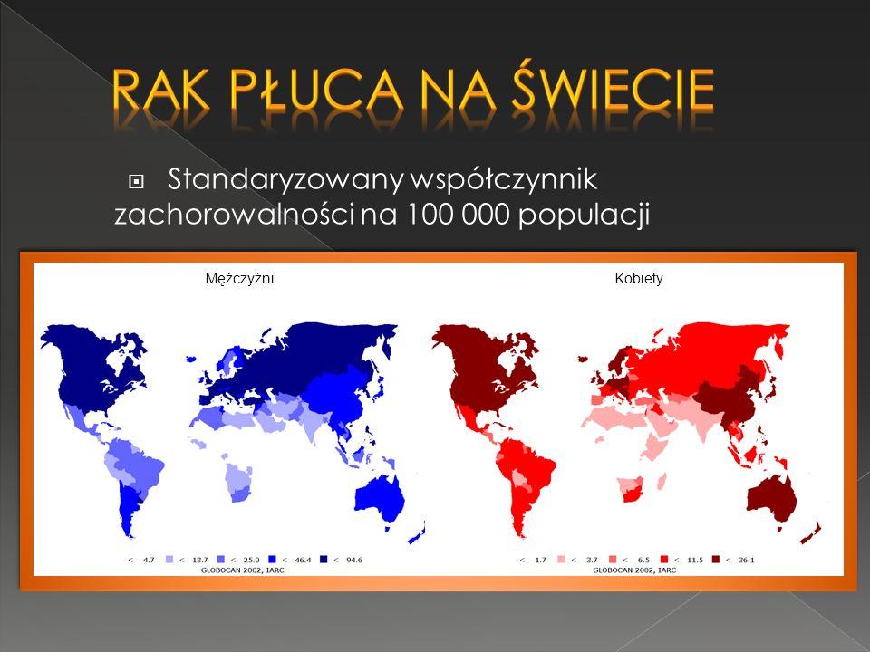 Rak płuca w Polsce Rak płuca jest najbardziej zabójczym nowotworem złośliwym. Więcej niż 80% przypadków raka płuca wykrywana jest zbyt późno.