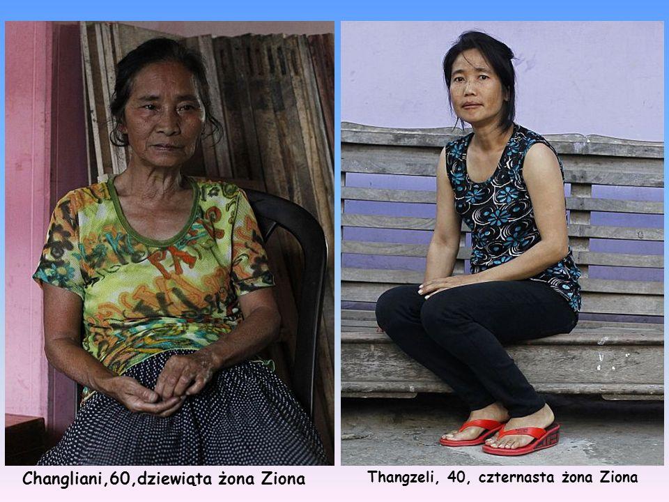 Changliani,60,dziewiąta żona Ziona