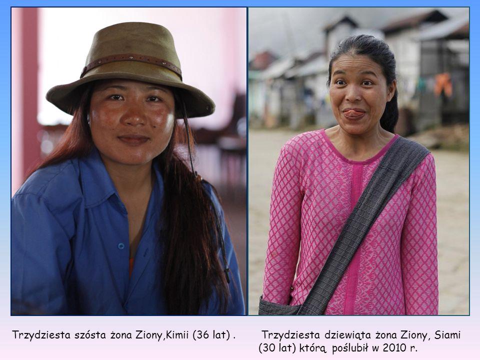 Trzydziesta szósta żona Ziony,Kimii (36 lat)
