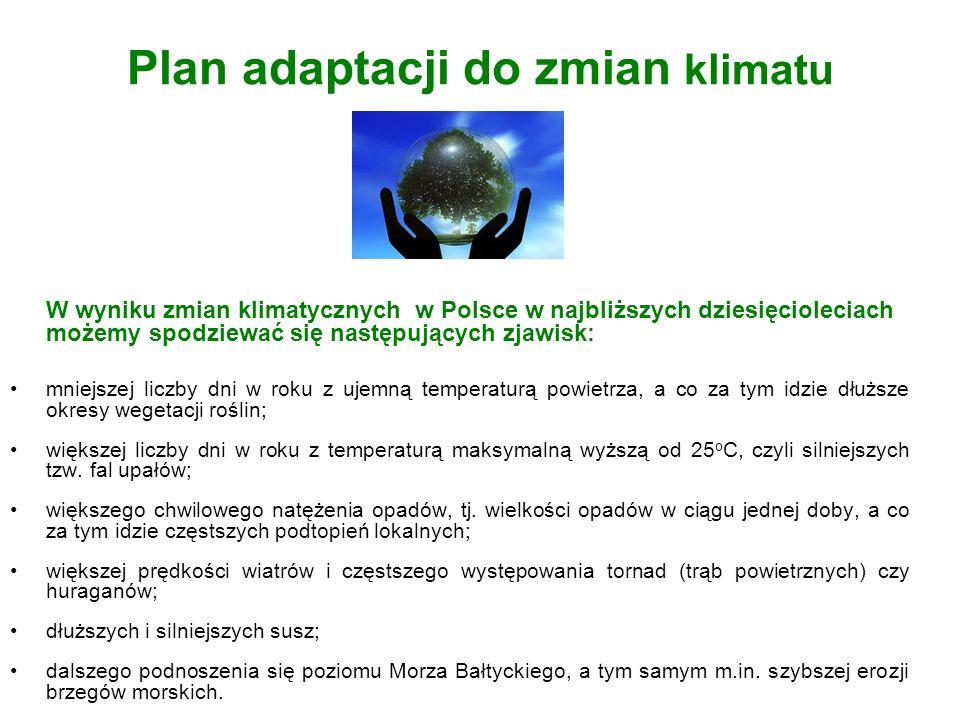 Plan adaptacji do zmian klimatu