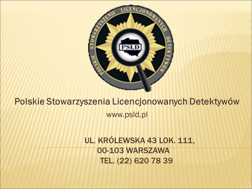 ul. Królewska 43 lok. 111, 00-103 Warszawa tel. (22) 620 78 39
