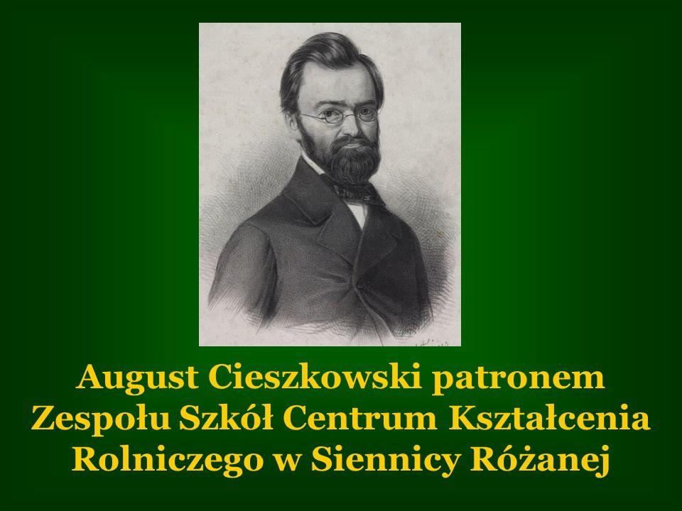 August Cieszkowski patronem Zespołu Szkół Centrum Kształcenia Rolniczego w Siennicy Różanej