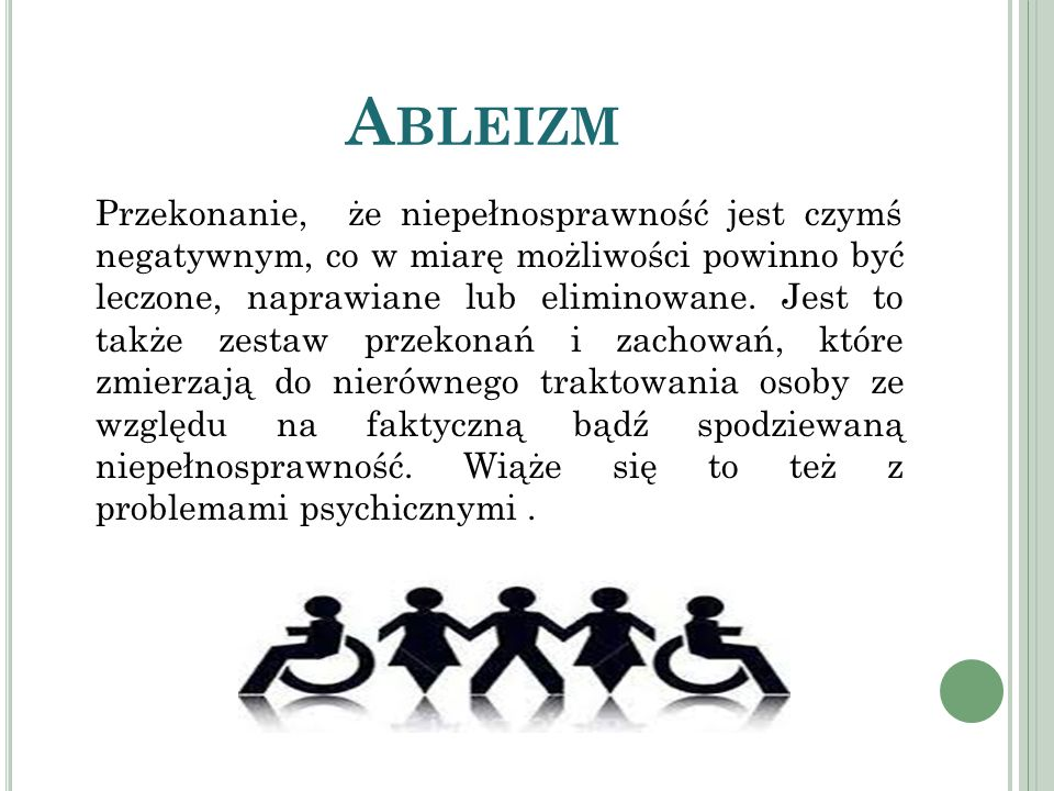Ableizm