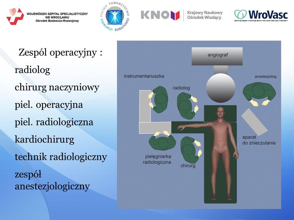 technik radiologiczny zespół anestezjologiczny