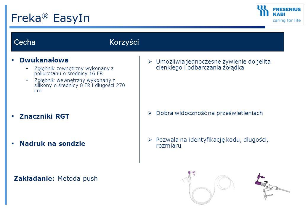 Freka® EasyIn Cecha Korzyści Dwukanałowa Znaczniki RGT