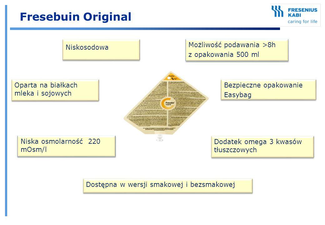 Fresebuin Original Niskosodowa Możliwość podawania >8h