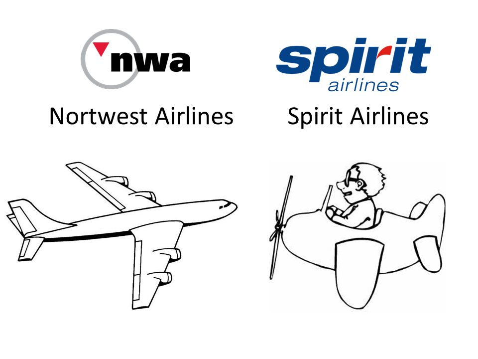 Nortwest Airlines Spirit Airlines
