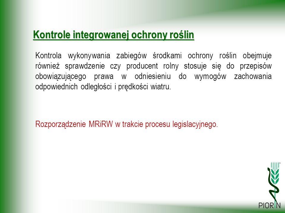 Rozporządzenie MRiRW w trakcie procesu legislacyjnego.