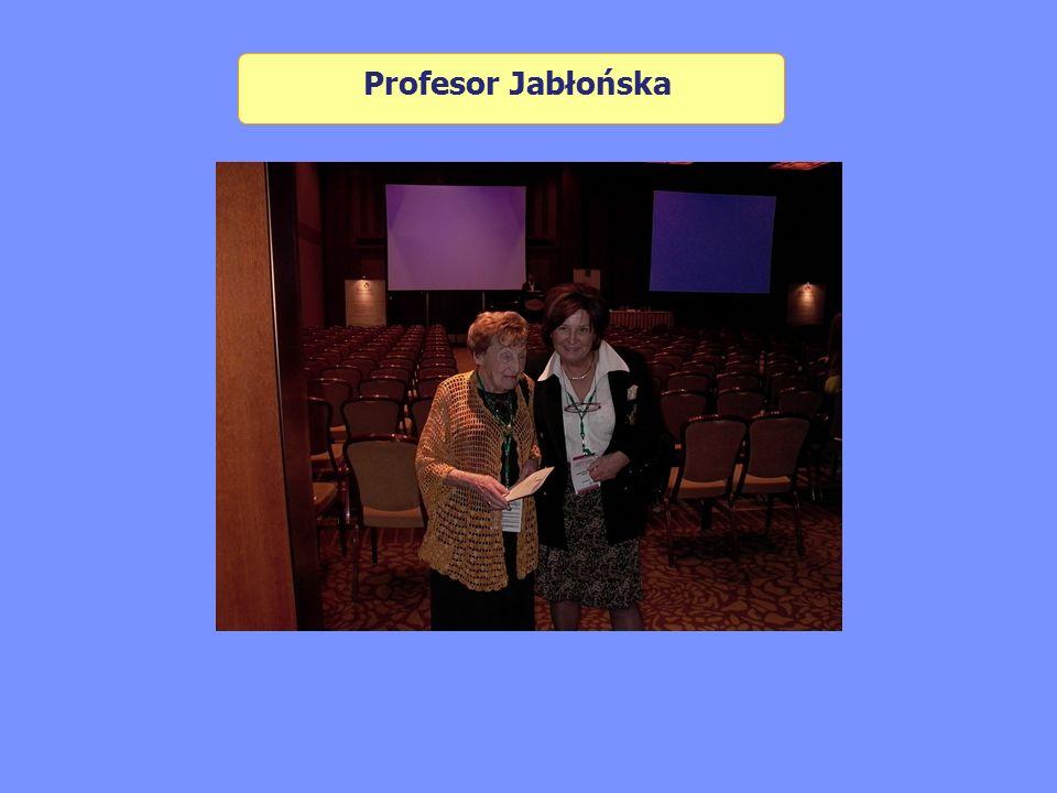 Profesor Jabłońska