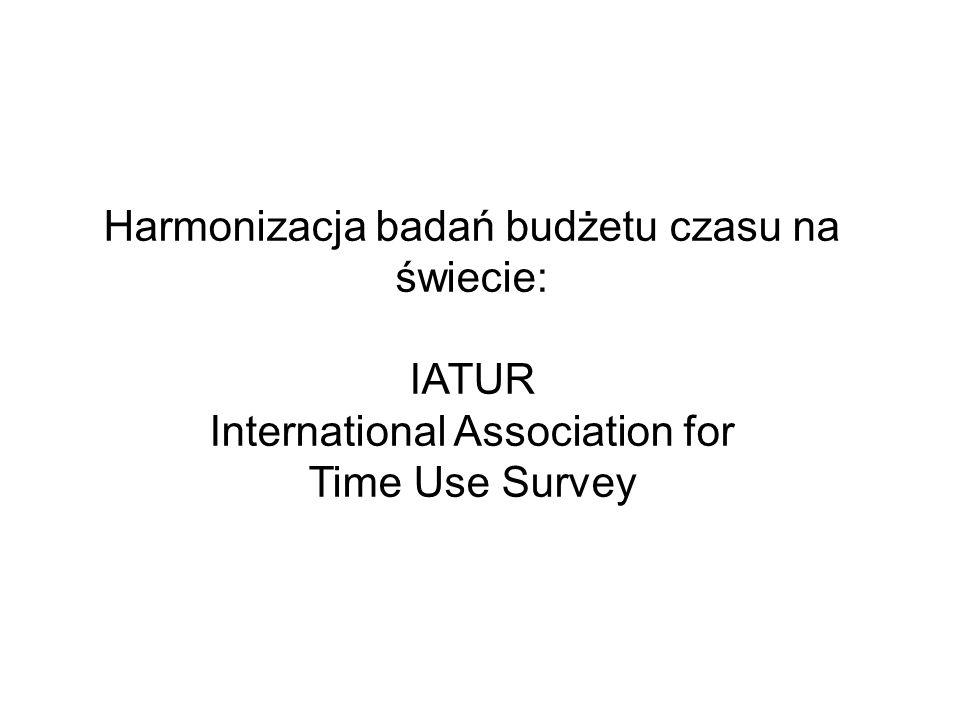Harmonizacja badań budżetu czasu na świecie:
