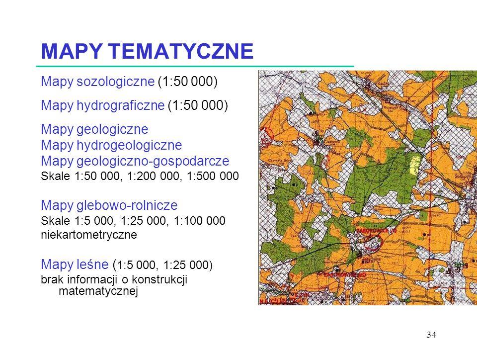 MAPY TEMATYCZNE Mapy sozologiczne (1:50 000)