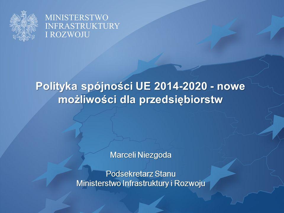 Polityka spójności UE 2014-2020 - nowe możliwości dla przedsiębiorstw