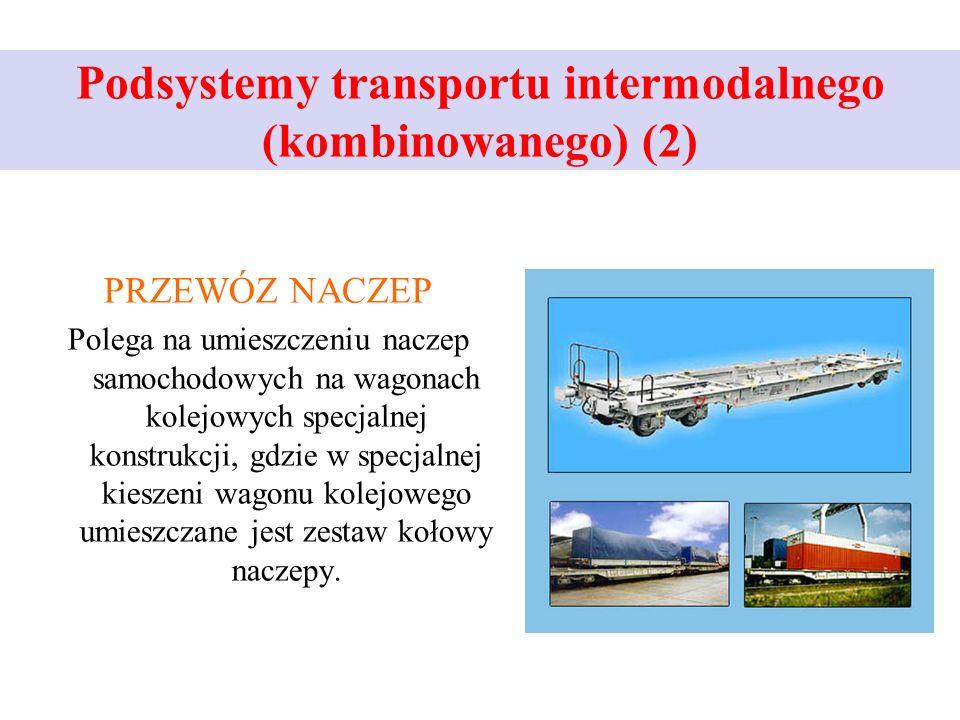Podsystemy transportu intermodalnego (kombinowanego) (2)
