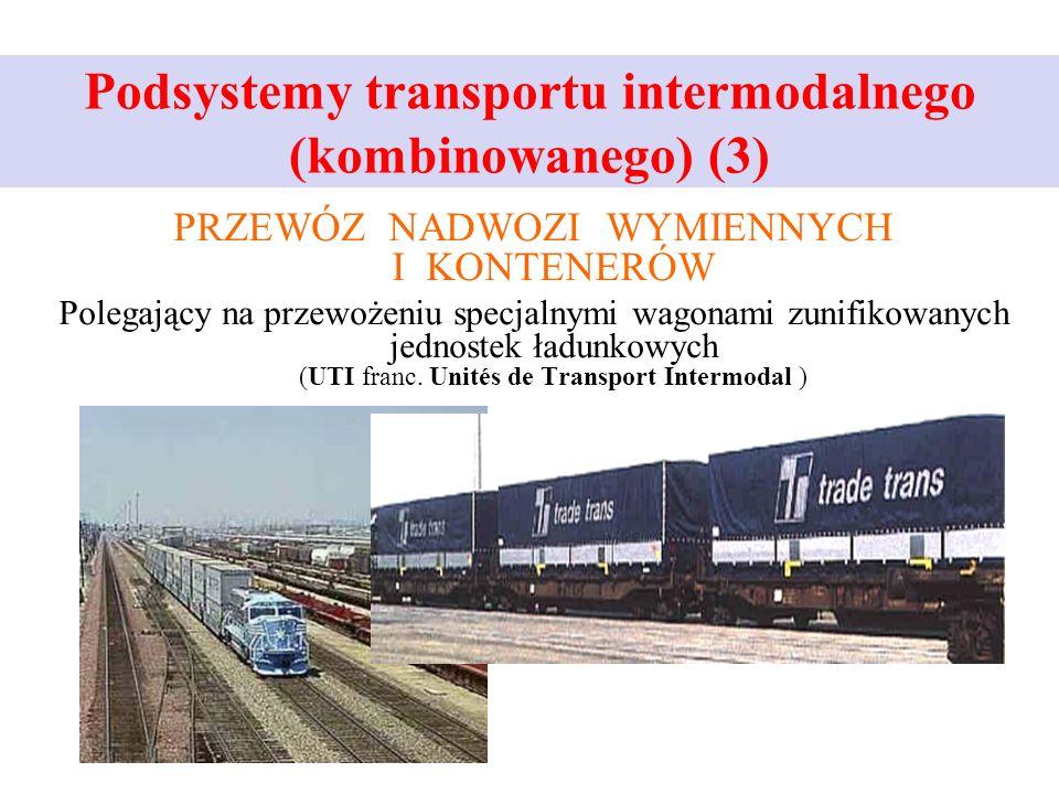 Podsystemy transportu intermodalnego (kombinowanego) (3)