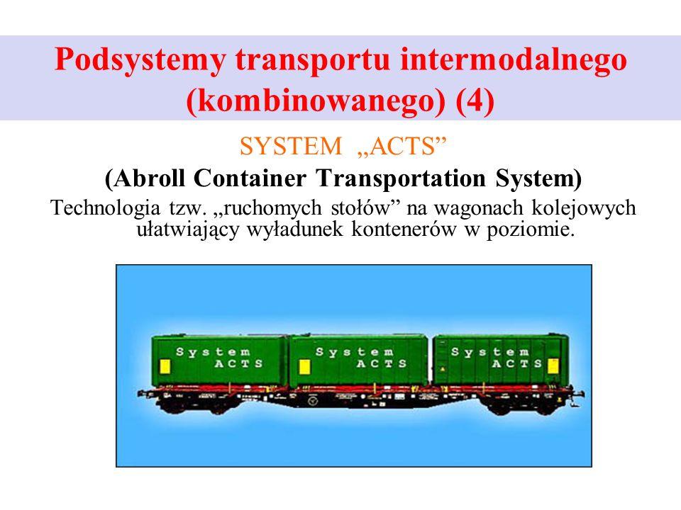 Podsystemy transportu intermodalnego (kombinowanego) (4)