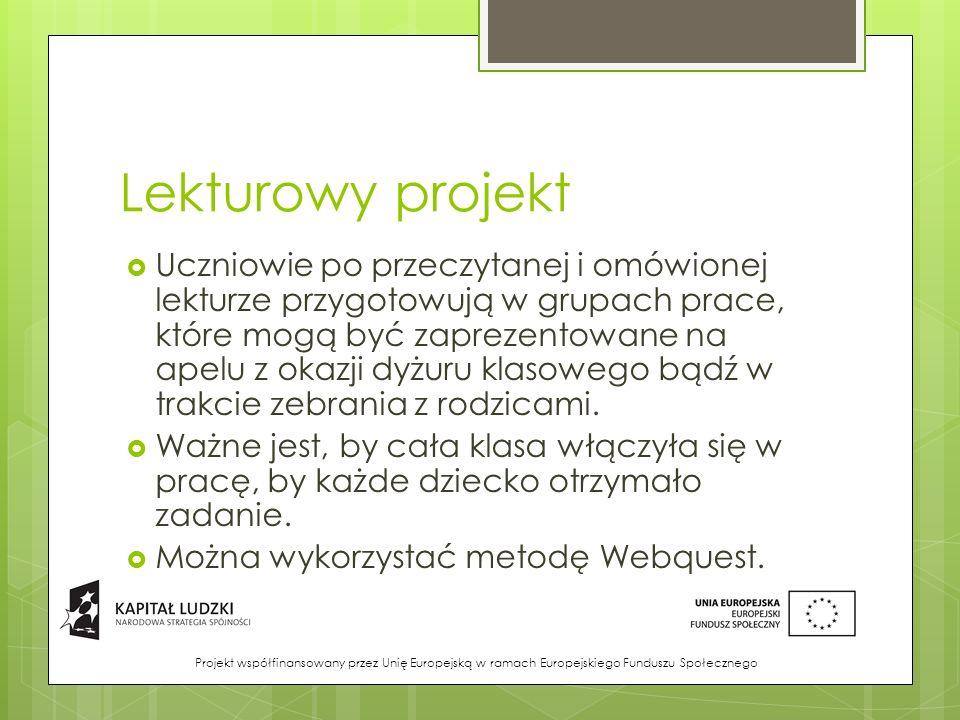Lekturowy projekt