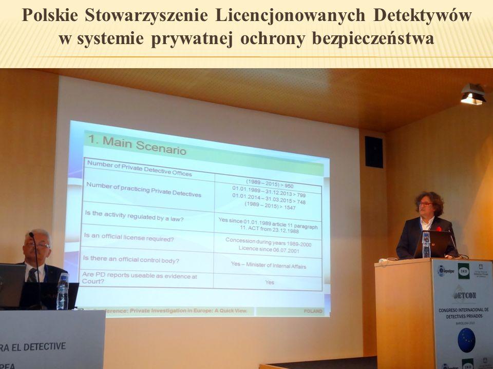 Polskie Stowarzyszenie Licencjonowanych Detektywów w systemie prywatnej ochrony bezpieczeństwa