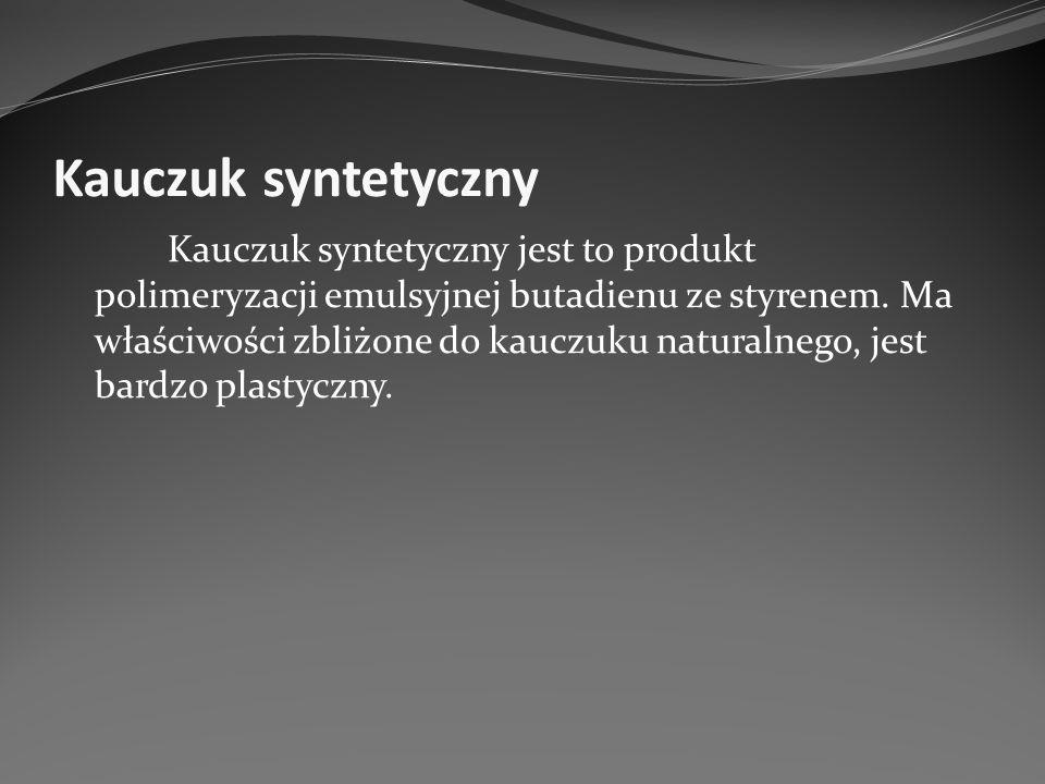 Kauczuk syntetyczny