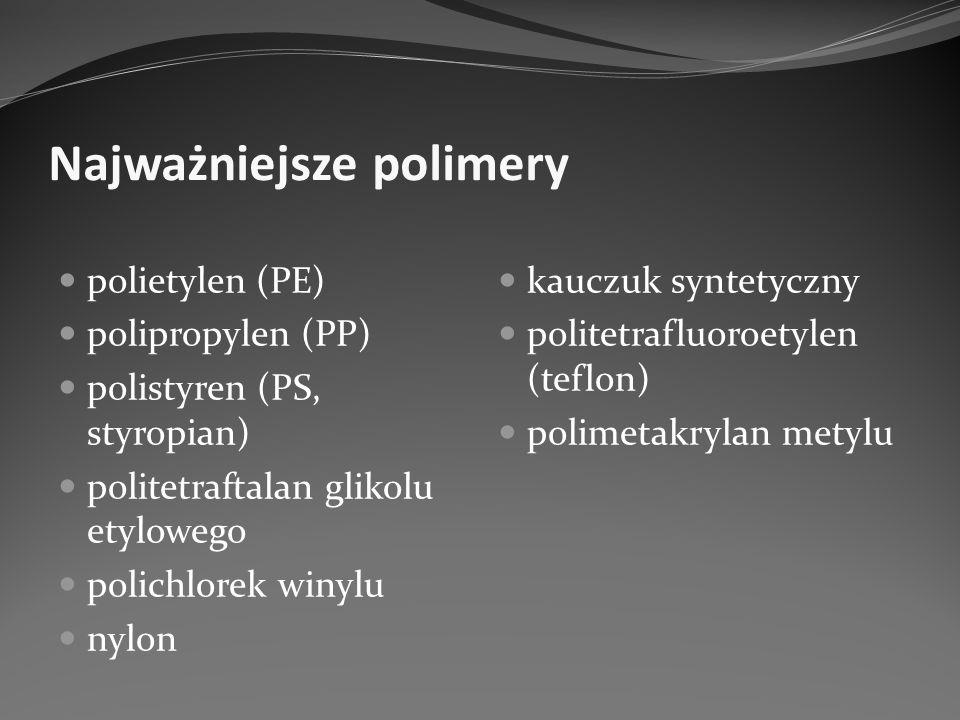 Najważniejsze polimery