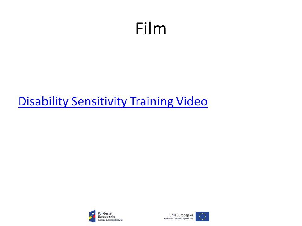 Film Disability Sensitivity Training Video