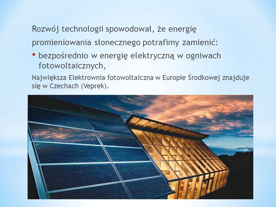Rozwój technologii spowodował, że energię