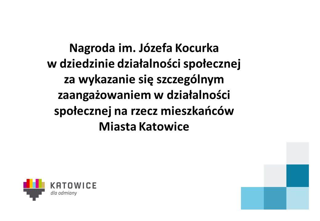 Nagroda im. Józefa Kocurka w dziedzinie działalności społecznej