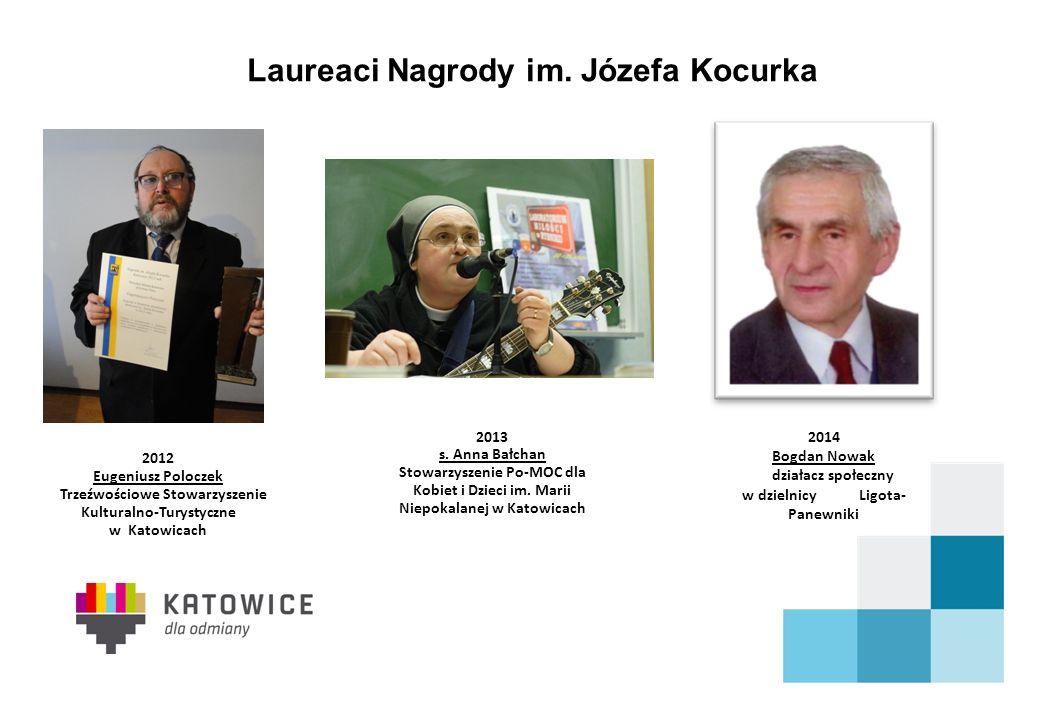 Laureaci Nagrody im. Józefa Kocurka