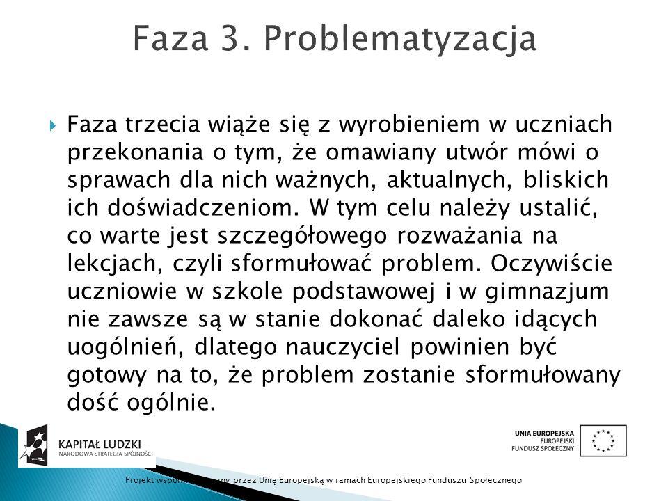 Faza 3. Problematyzacja