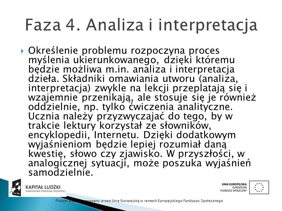 Faza 4. Analiza i interpretacja