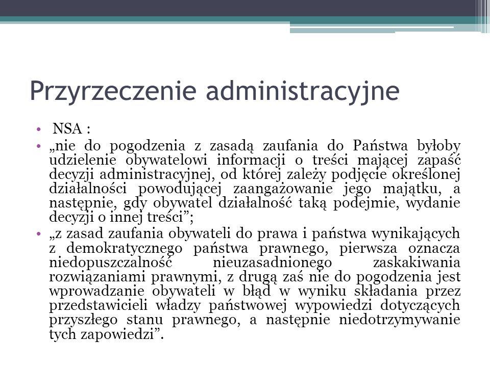 Przyrzeczenie administracyjne