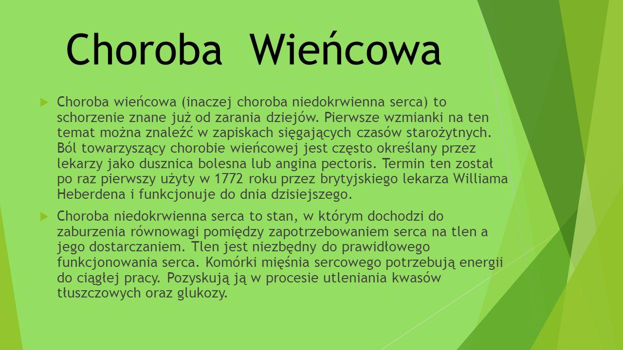 Choroba Wieńcowa