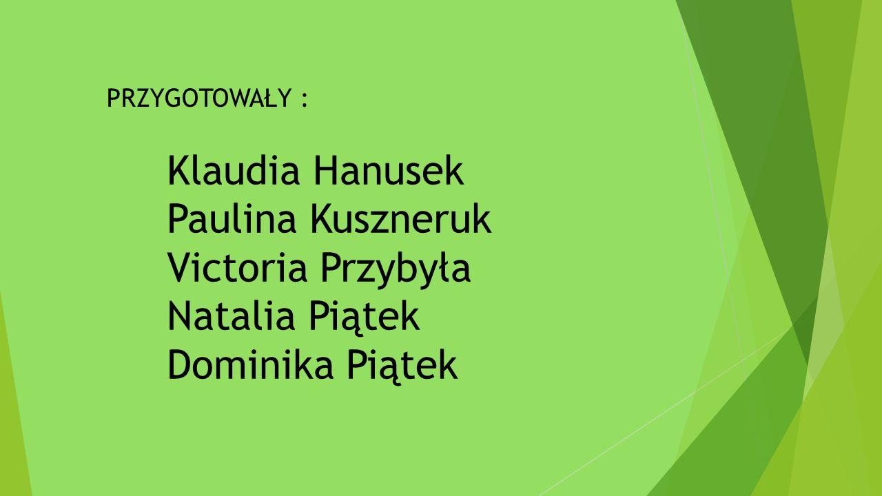 Klaudia Hanusek Paulina Kuszneruk Victoria Przybyła Natalia Piątek