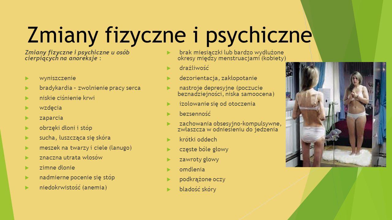 Zmiany fizyczne i psychiczne