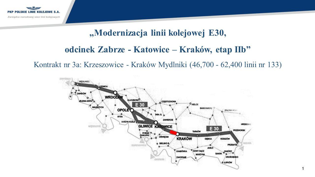 """""""Modernizacja linii kolejowej E30,"""