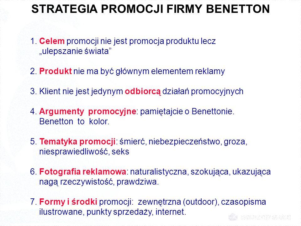 STRATEGIA PROMOCJI FIRMY BENETTON