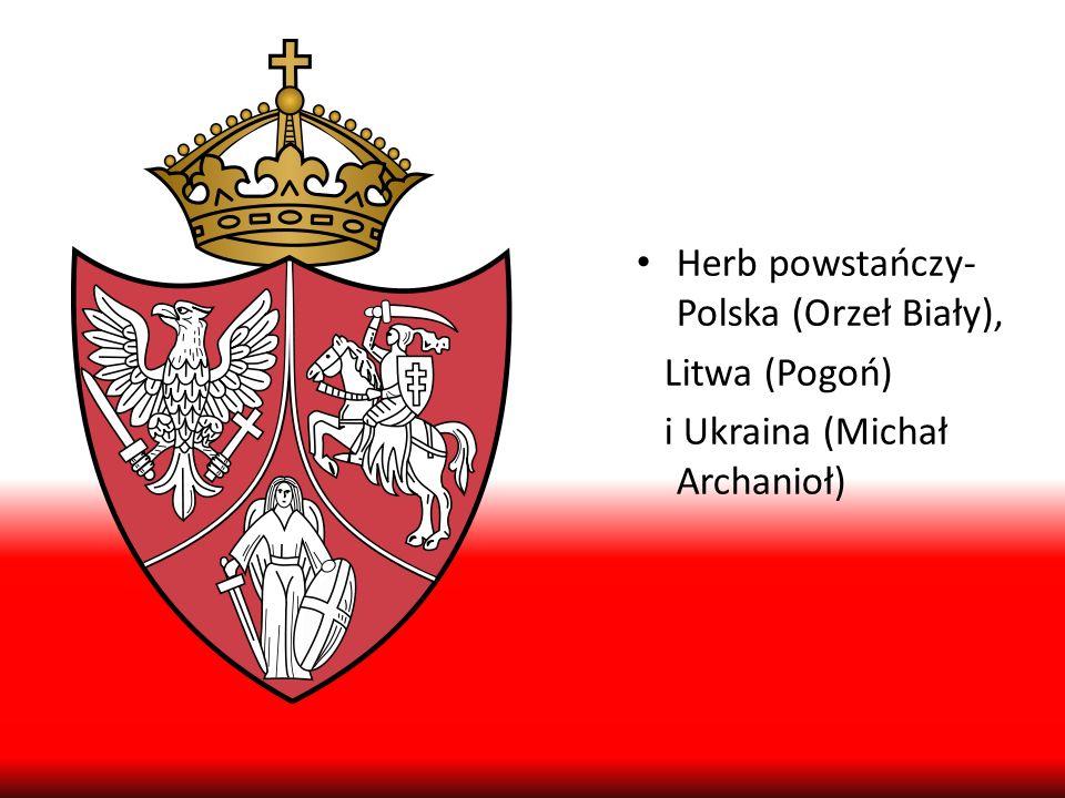 Herb powstańczy- Polska (Orzeł Biały),