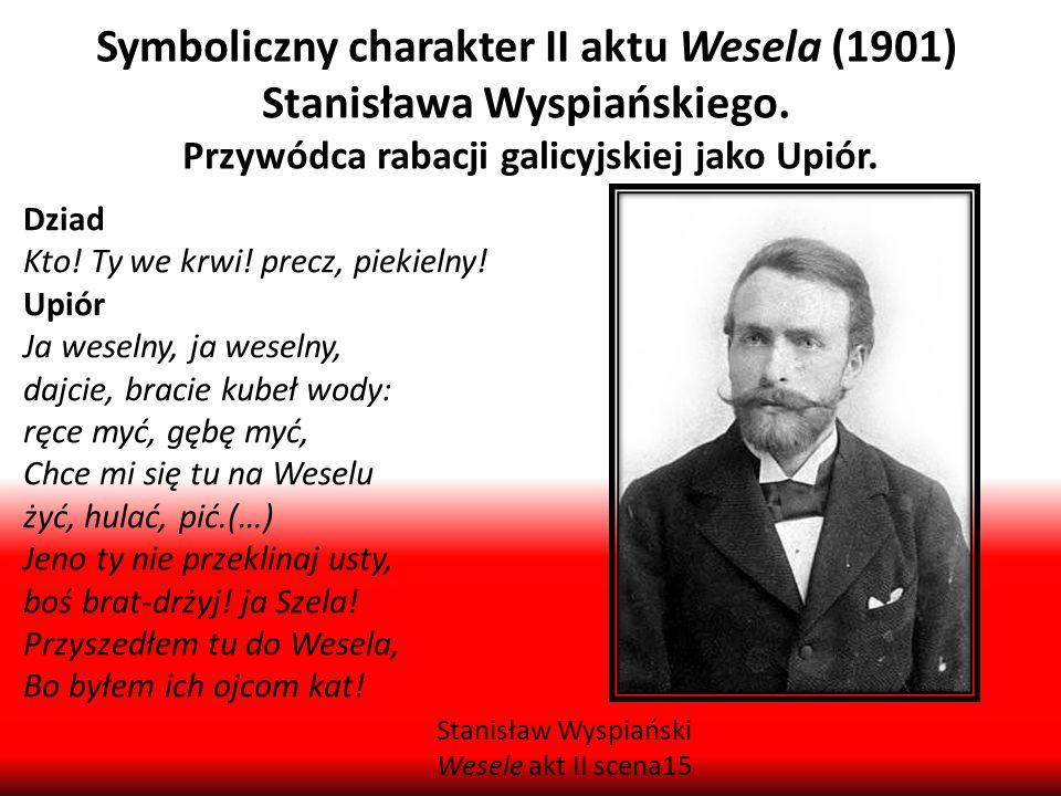 Symboliczny charakter II aktu Wesela (1901) Stanisława Wyspiańskiego.