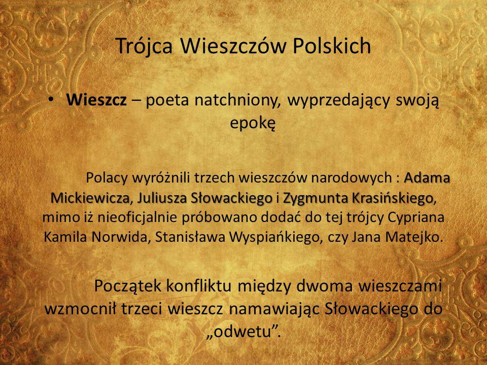 Trójca Wieszczów Polskich