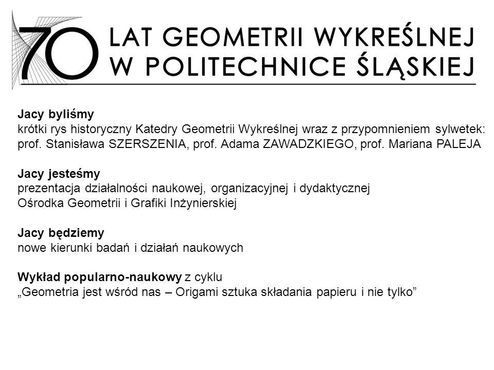 prezentacja działalności naukowej, organizacyjnej i dydaktycznej