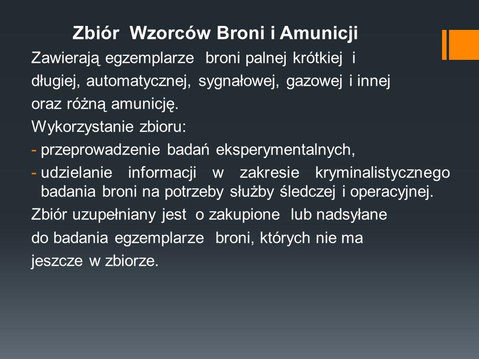 Zbiór Wzorców Broni i Amunicji