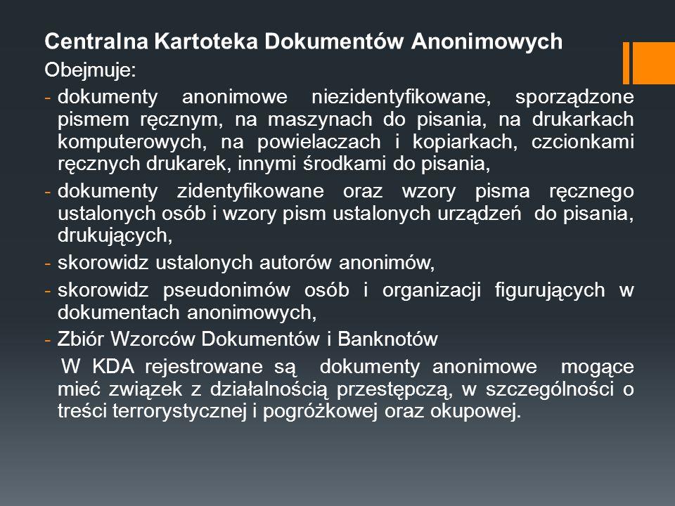 Centralna Kartoteka Dokumentów Anonimowych