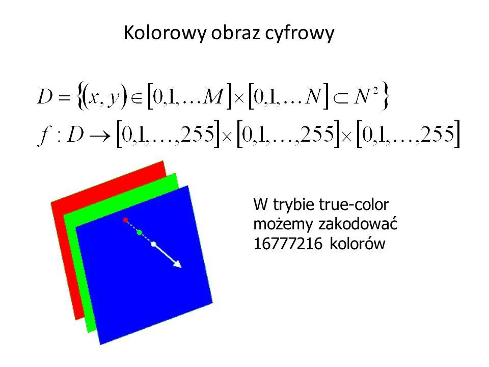 Kolorowy obraz cyfrowy