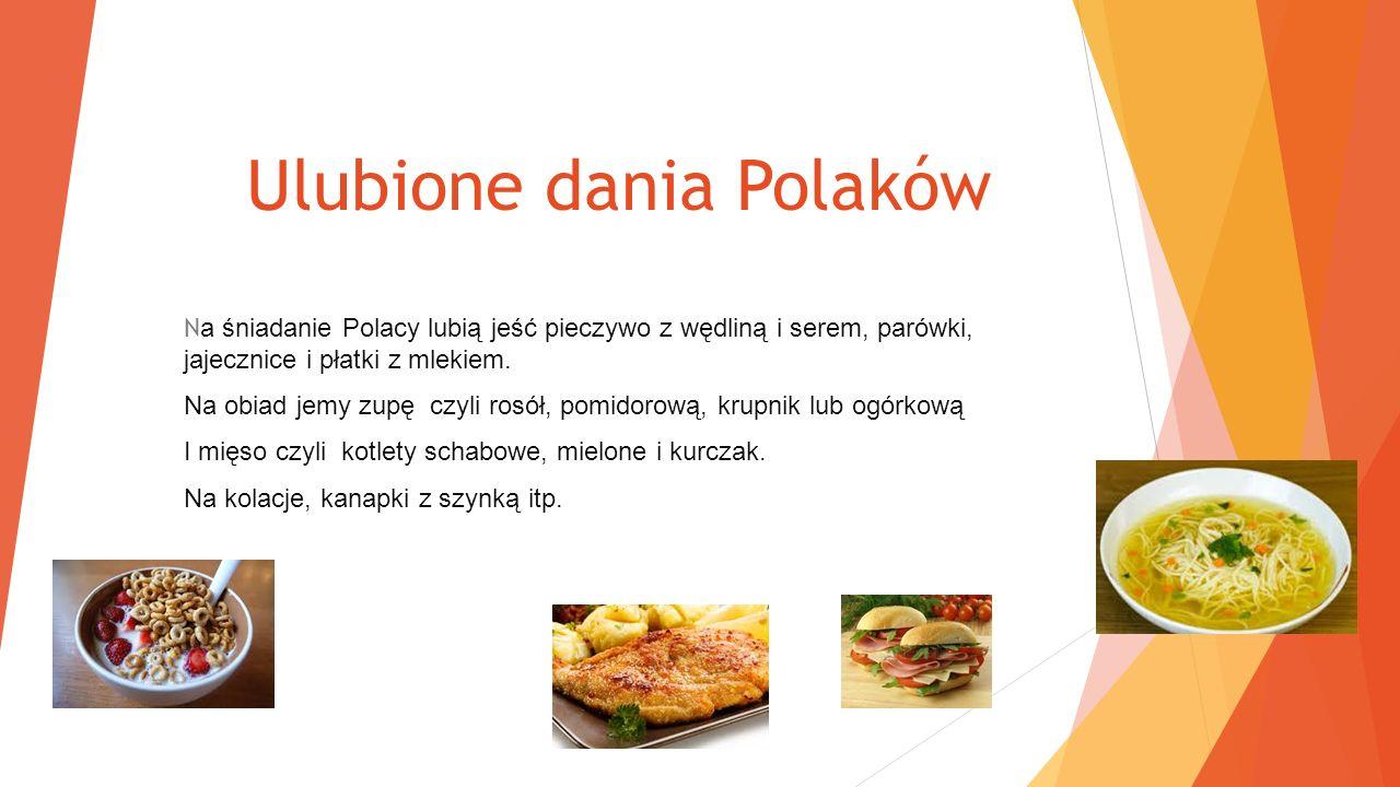 Ulubione dania Polaków
