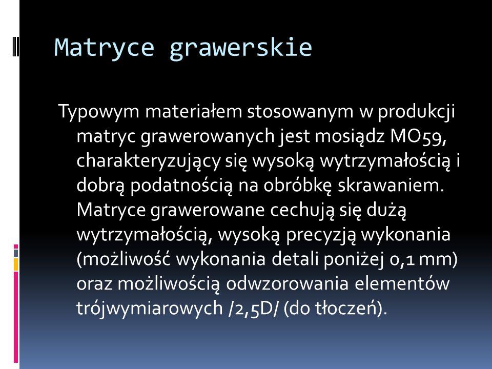 Matryce grawerskie