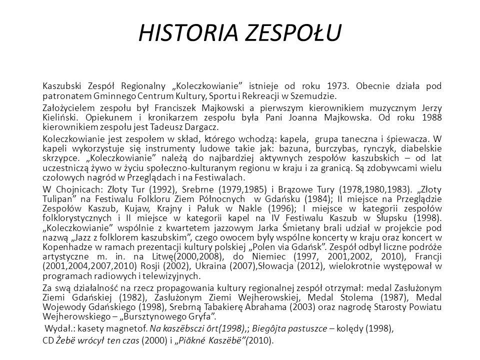 HISTORIA ZESPOŁU
